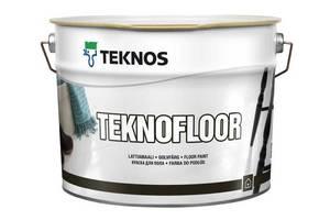 Новые Краски для пола Teknos
