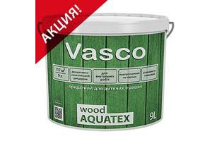 Новые Лаки для дерева Vasco