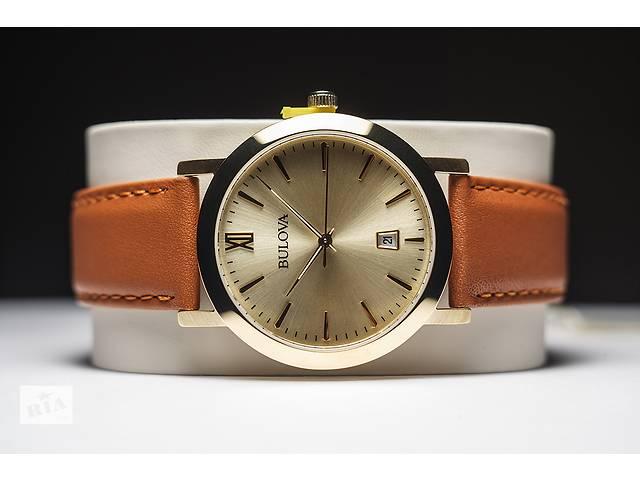 BULOVA Мужские.Позолоченные Новые часы.- объявление о продаже  в Запорожье