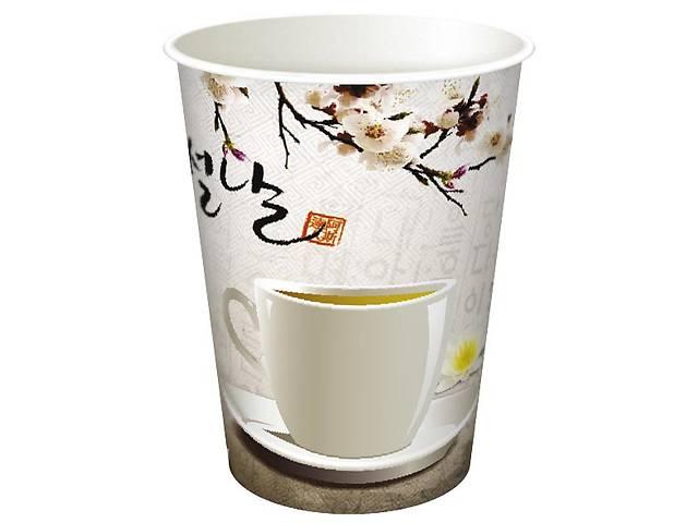 бу Бумажные стаканы для кофе-чая 250 мл  в Украине