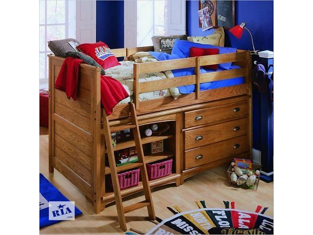 бу Буржуй - односпальная кровать из натурального массива дерева, от фабрики в Василькове