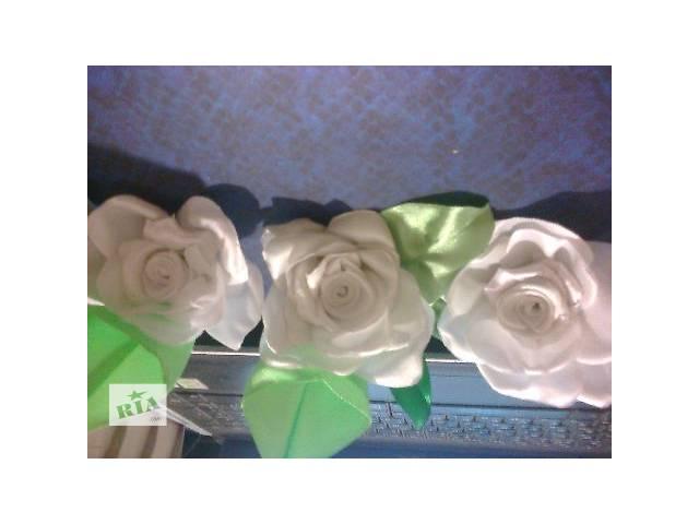 продам бутоньерки ,цветы бу в Кременчуге