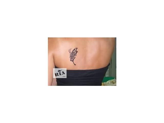 купить бу био краска для бровей .татуировки временные в Харькове