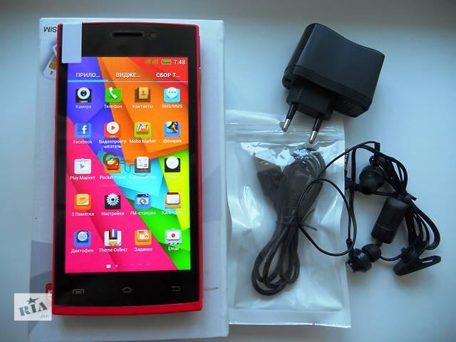 купить бу Бюджетный смартфон HTC GT-M7 Red 100% (копия Китай)  в Киеве