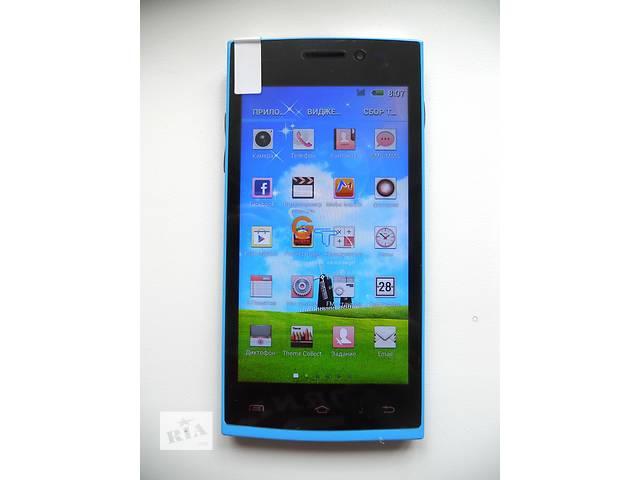 """Бюджетный смартфон НТС GT-M7 Blue (экран 4,5"""" Android 4.2.2) Качество!- объявление о продаже  в Запорожье"""