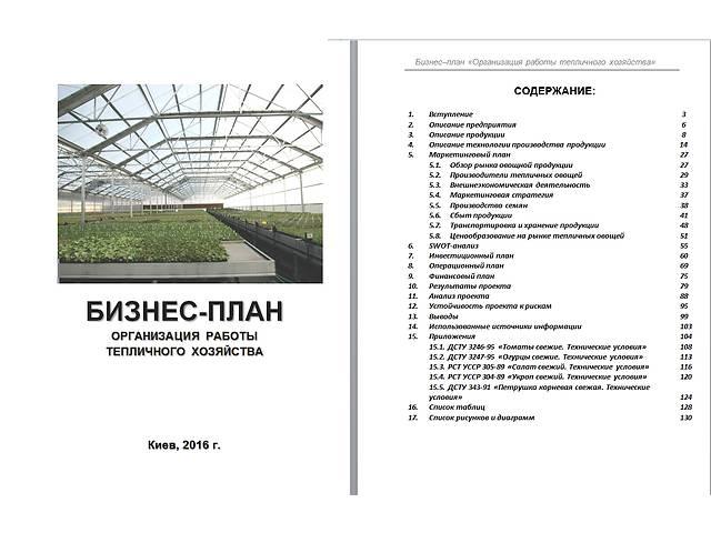 продам Бизнес-план, технико-экономическое обоснование (ТЭО) для аграриев, фермеров, агрофирм и инвест-компаний бу  в Украине
