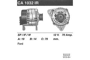 Новые Генераторы/щетки Ford Fiesta