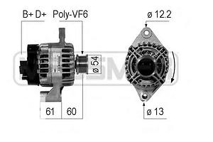 Новые Генераторы/щетки Fiat Ducato