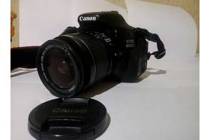 Зеркальные фотоаппараты Canon EOS 600D Kit (18-55 IS)