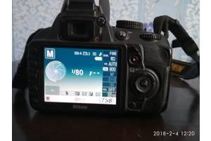 б/у Цифровые фотоаппараты Nikon D3100