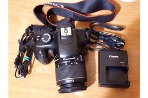 б/у Зеркальные фотоаппараты Canon EOS 1100D Kit (18-55 IS II)