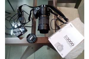 б/у Зеркальные фотоаппараты Nikon D3000 Kit (18-105 VR)