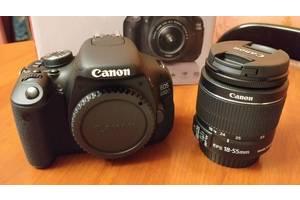Нові Дзеркальні фотоапарати Canon EOS 600D Kit (18-55 IS)