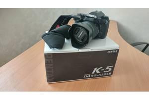 Зеркальные фотоаппараты Pentax K-5