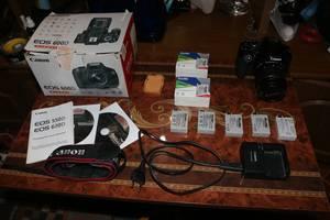 б/у Фотоаппараты, фототехника Canon EOS 600D Kit (18-55 IS)