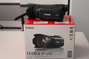 б/у Профессиональные видеокамеры Canon Legria HF G10