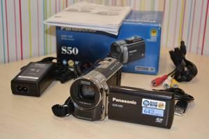 б/у Видеокамеры, видеотехника Panasonic SDR-S50