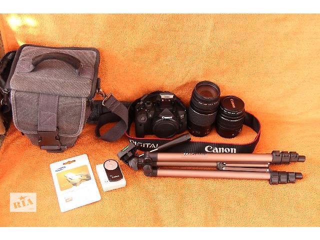 купить бу Canon 700D+2 обектива есть и 100-600-650-750d в Каменец-Подольском