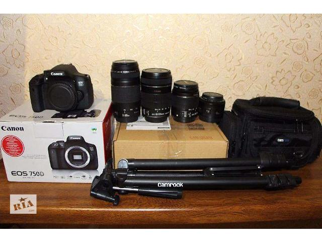 продам Canon 750d есть и 600-650-700-100d бу в Каменец-Подольском