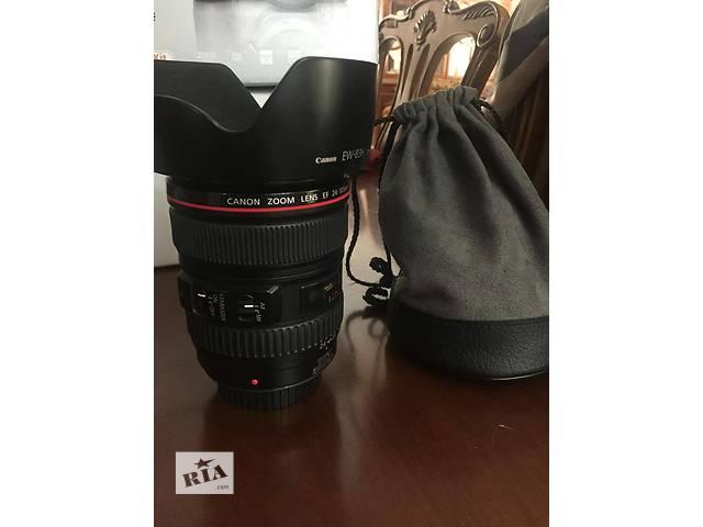 продам Canon EF 24-105 L IS USM бу в Одессе
