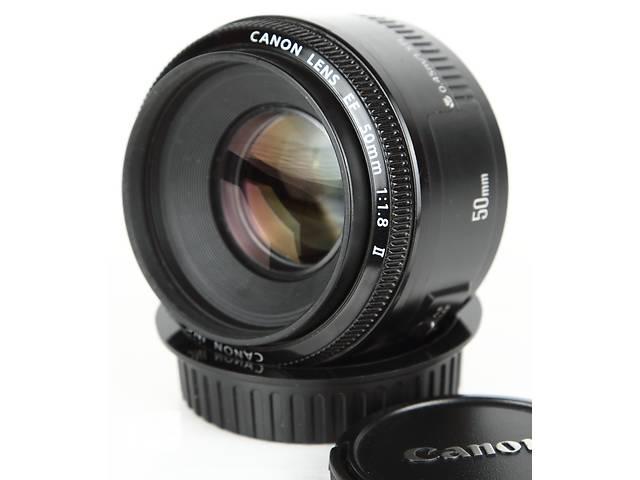 купить бу Canon EF 50mm f/1.8 II в Одессе