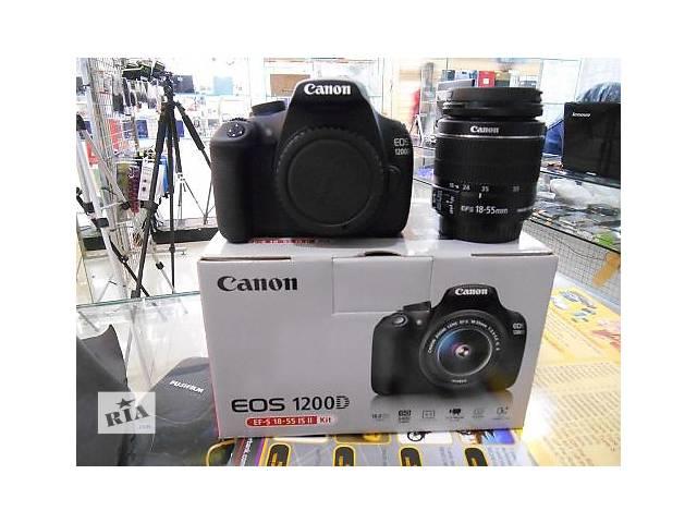 бу Canon EOS 1200D 18-55II в Трускавце