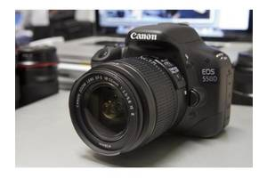 б/у Цифровые фотоаппараты Canon EOS 550D Kit (18-135 IS)