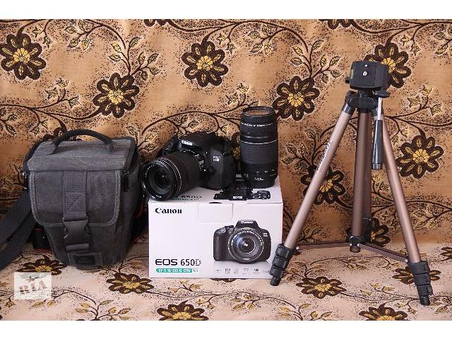 бу Canon EOS 650D / Rebel T4i в Каменец-Подольском