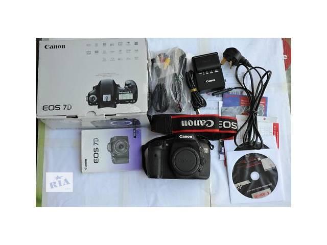 Canon EOS 7D Digital SLR Camera- объявление о продаже  в Кагарлыке (Киевской обл.)