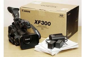 Новые Профессиональные видеокамеры Canon XF300