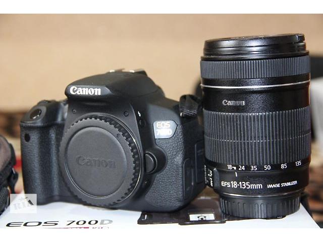 купить бу Canon 700d+обьектив18-135 в Каменец-Подольском