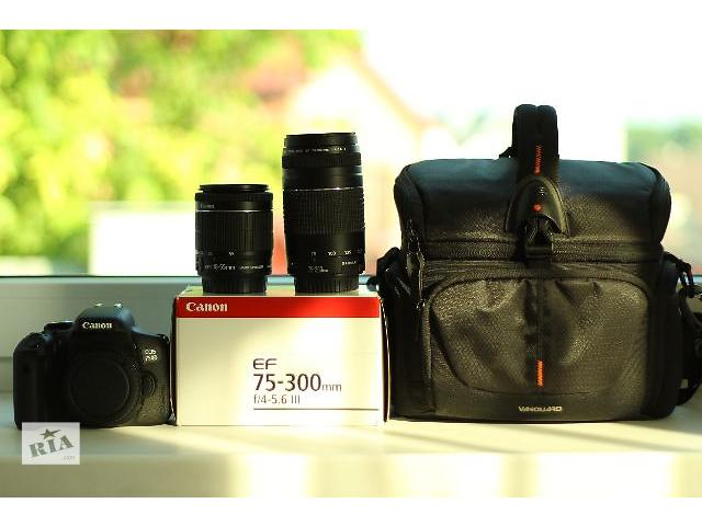 купить бу Canon 750D в Каменец-Подольском