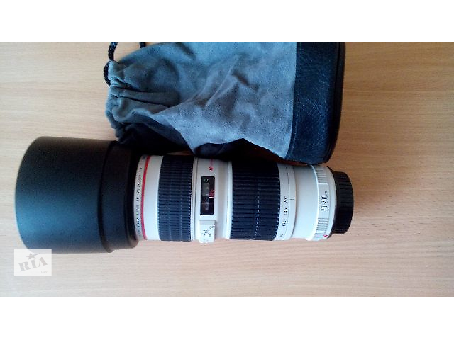 продам Canon EF 70-200mm f/4 L USM бу в Запорожье