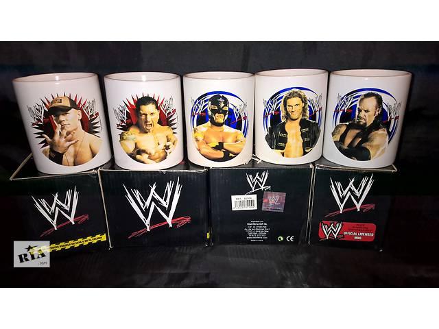 бу Чашка Реслинг Wrestling WWE Лицензионная в подарочной коробке в Тернополе