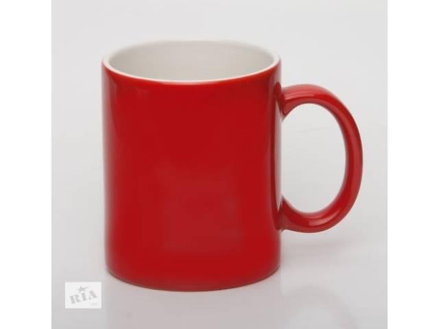 продам Чашки цветные с логотипом фирмы! бу  в Украине