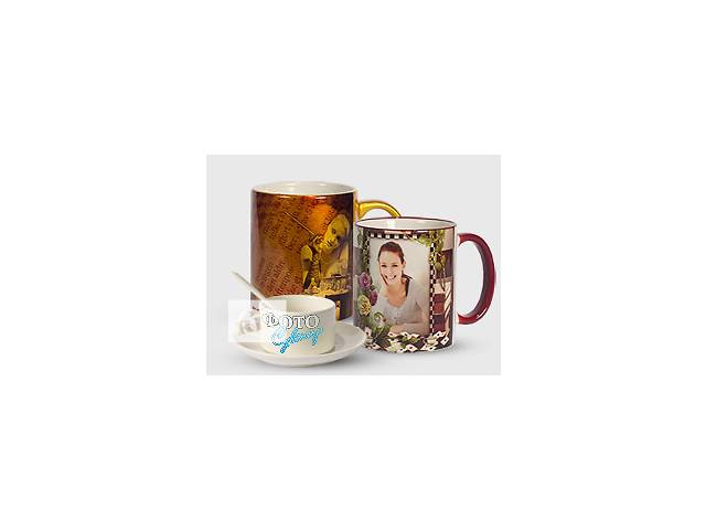 купить бу Чашки и кружки с Вашим фото  в Украине