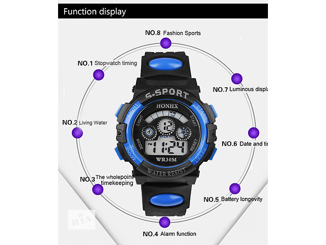 продам Часы электронные Sport бу в Виннице