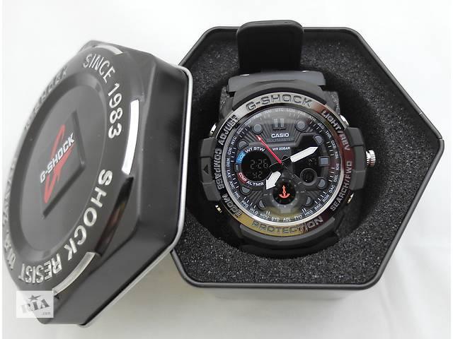 Часы G-Shock - Gulfmaster Gold, черный безель, стальной бокс, черные- объявление о продаже  в Харькове