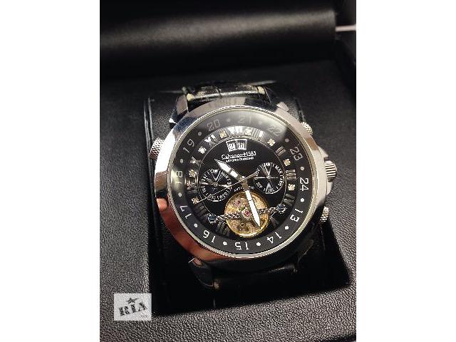 купить бу Часы мужские с автоподзаводом Calvaneo Astonia Diamond Black в Днепре (Днепропетровске)