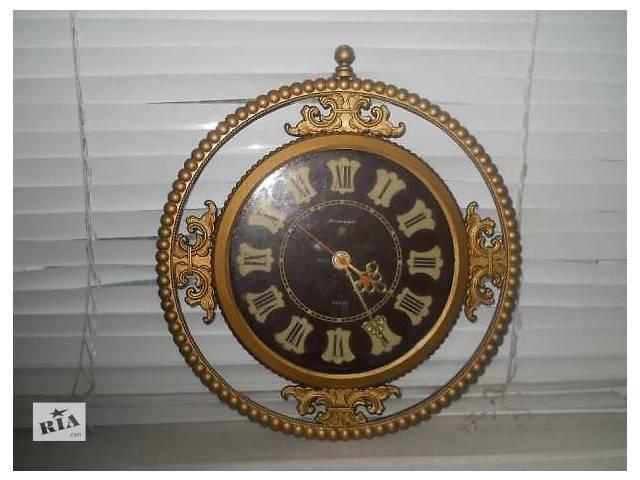 купить бу Часы настенные кварц, янтарь СССР в Конотопе