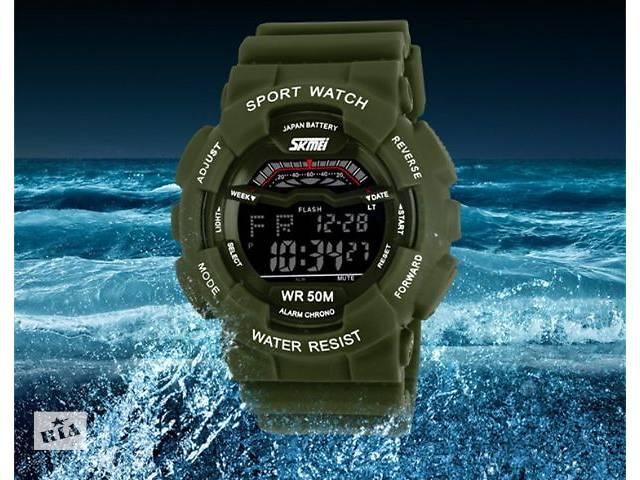 купить бу Часы наручные мужские  Skmei армейские в Кривом Роге