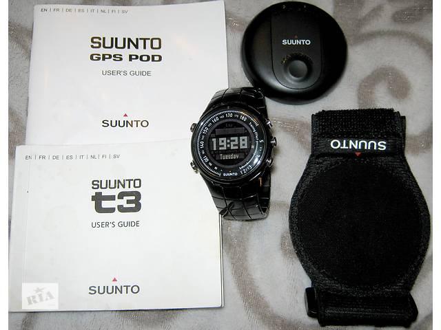продам Часы Suunto T3C + Gps pod бу в Киеве