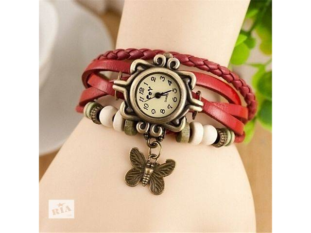 Vintage style sparkly butterfly bracelets