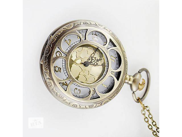Часы кулон стильная подвеска  круглые на цепочке- объявление о продаже  в Харькове