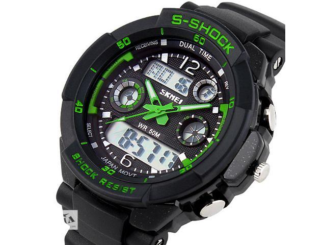 купить бу Часы мужские спортивные SKMEI 0931 S-SHOCK Green в Львове