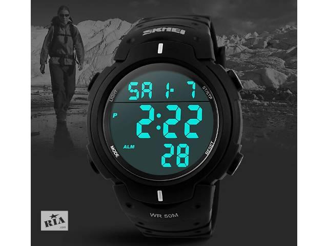 Часы мужские спортивные SKMEI 1068 Black- объявление о продаже  в Львове