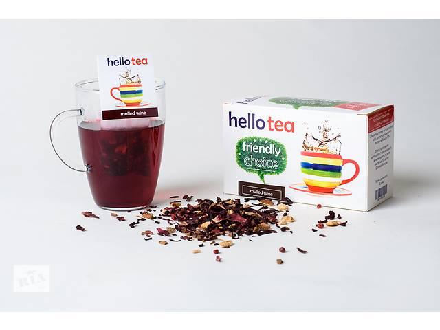 Пьём чай из чаги