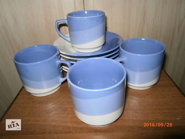 купить бу Чайно-кофейный сервиз (керамика) в Киеве