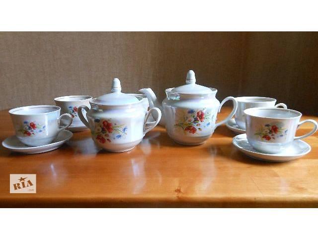 купить бу Чайный сервиз в Апостолово