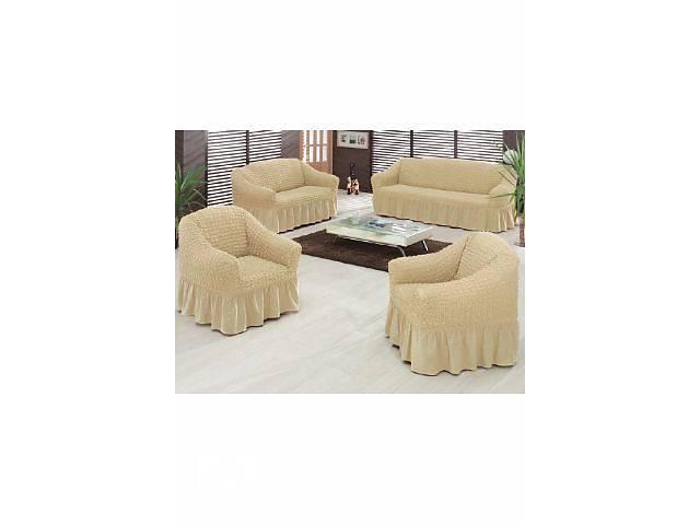 купить бу Универсальные Чехлы на диван и 2 кресла! в Киеве